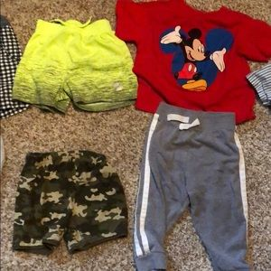 Baby boy clothing assortment (9 pcs) - 18 months